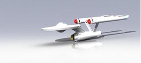 《星际迷航》里的企业号宇宙飞船